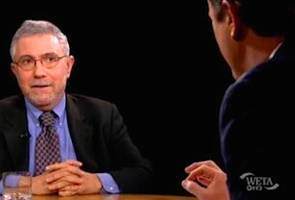 Krugman Hits Scarborough and 'Obamacare Truthers' at MSNBC