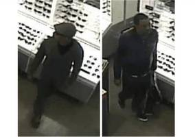 Cops Looking for Men Who Swiped Designer Sunglasses