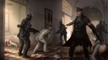 in the german version of wolfenstein: the new order, nazis are called the regime