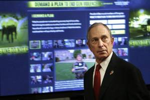 Former New York mayor Bloomberg funds gun control group to counter NRA